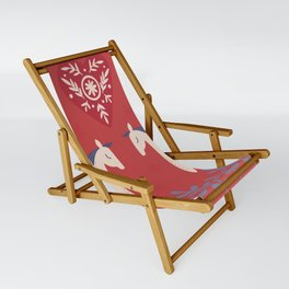 Swedish Christmas 2 Sling Chair