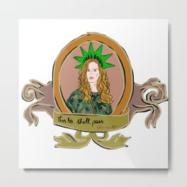 """Rebecca Mader """"bexmader"""" This too shall pass Metal Print"""