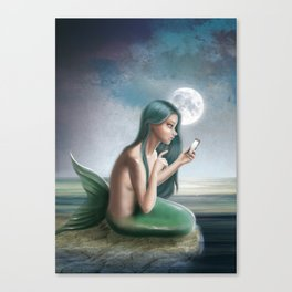Hello? (Disconnected) Canvas Print