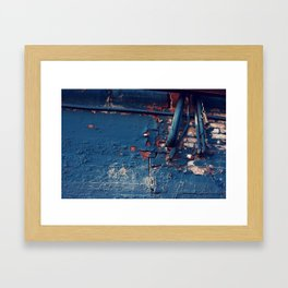 Crumbles Framed Art Print