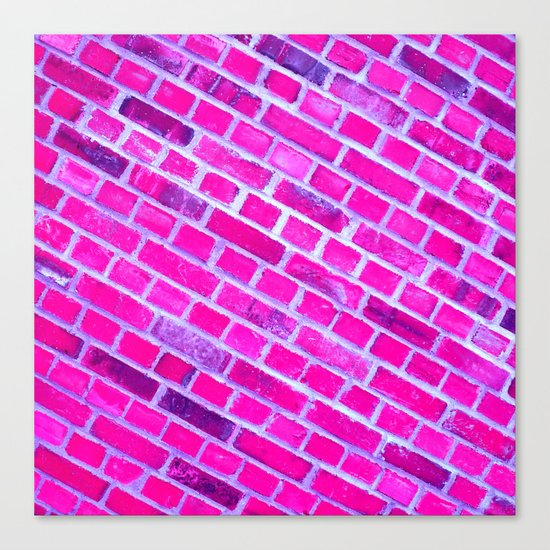 violet wall II Canvas Print