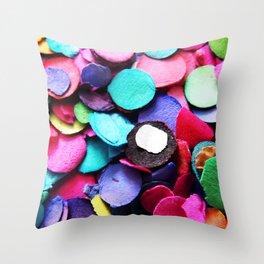 Confetti Sprinkle 2 Throw Pillow