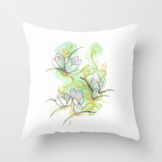 Crocus Throw Pillow
