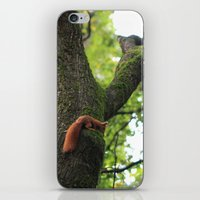 runner iPhone & iPod Skins featuring Runner by Cristina Cavallari