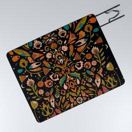 Botanical Print Picnic Blanket