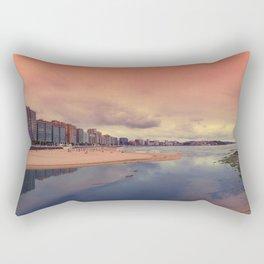 San Lorenzo beach Rectangular Pillow