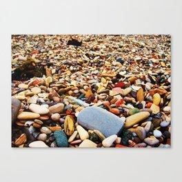 Pebbles Beach Canvas Print