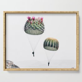 Flying Cacti Serving Tray