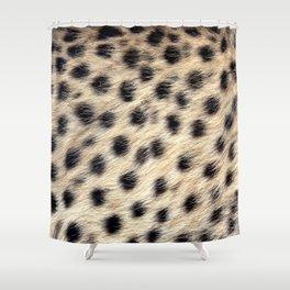 Cheetah Pattern Style Shower Curtain