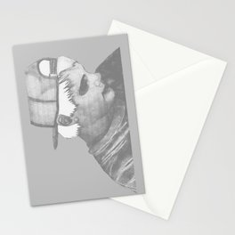 The ghost of him Stationery Cards