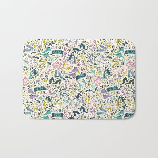 Heels and Handbags (sweet) Bath Mat