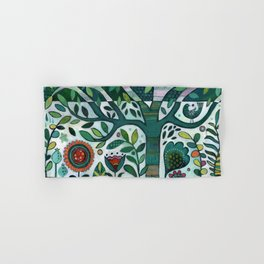 Leafy Garden Hand & Bath Towel