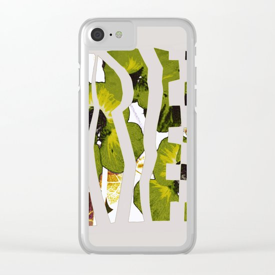 caged garden Clear iPhone Case