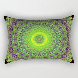 Snowflake #002 solid Rectangular Pillow