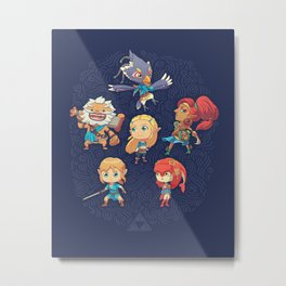 The Cuteness Ballad Metal Print