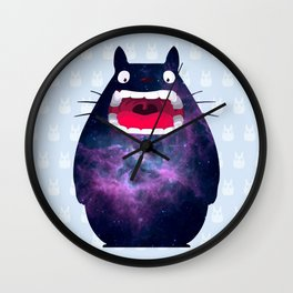My Neighbor Cosmos Wall Clock