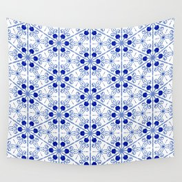 Delft Pattern 2 Wall Tapestry