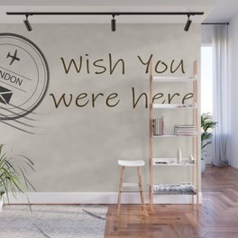 I love the traditional means of communication.  The handwritten message when travel was not as easy. Wall Mural