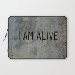 I AM ALIVE - Black - Detroit: Become Human Deviant Writing Laptop Sleeve