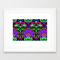 damask Framed Art Prints featuring Damask by Urlaub Photography
