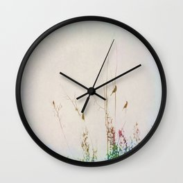 Rainbow of Melodies Wall Clock