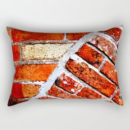 Tectonic Bricks Rectangular Pillow