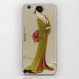 Itsutomi - Vintage Japanese Woodblock iPhone Skin
