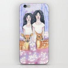 Twin Fawns iPhone & iPod Skin