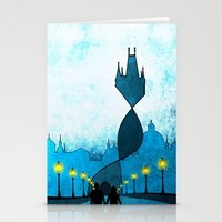 prague Stationery Cards featuring prague by Darthdaloon