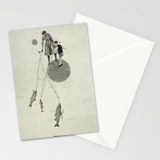 April | Collage Stationery Cards
