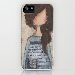 stir into the flame iPhone Case