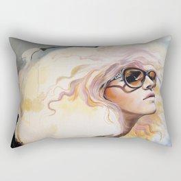 Lavender Heat Rectangular Pillow