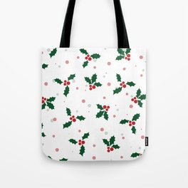 Holly tree pattern Tote Bag