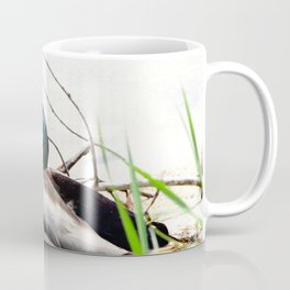 Chilling on the shore Coffee Mug