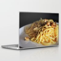 pasta Laptop & iPad Skins featuring Pasta by alemazza