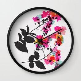 myrtle 1 Wall Clock