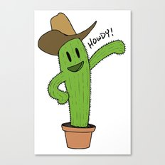 Cactus Rodeo Canvas Print