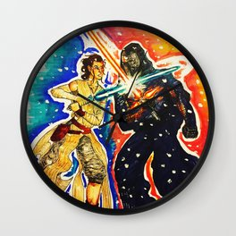 The Force Awakens Wall Clock