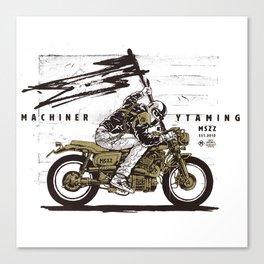 machinery taming Canvas Print