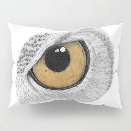 Gold Owl Eye Pillow Sham