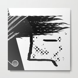 boy with a candy Metal Print