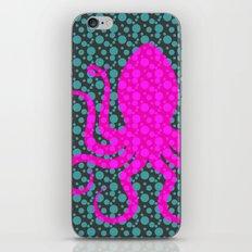 Pink Octopus iPhone & iPod Skin