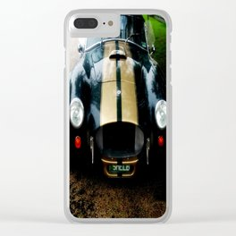 "1966 Cobra ""Shelby"" Convertible Clear iPhone Case"