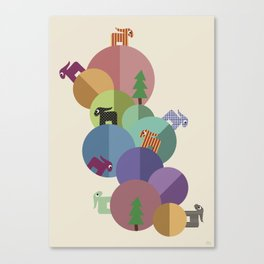 On Planets Canvas Print