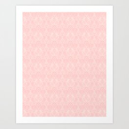Miami Beach Motel- Pink Art Print