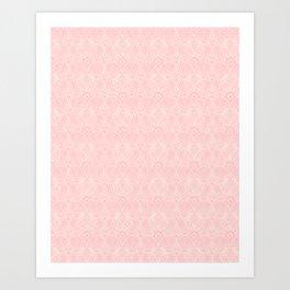 Miami Beach Motel- Pink Art Print