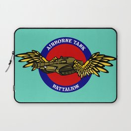 Tank with Wings Laptop Sleeve