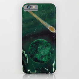 Copper Colored Comet Cometh iPhone Case