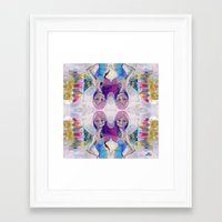 jane davenport Framed Art Prints featuring Perfect Little - Kaleidascope version by Jane Davenport by Jane Davenport