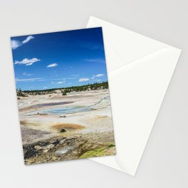Hats, Norris Geyser Basin, Yellowstone National Park Stationery Cards
